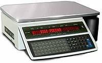 Весы настольные, с печатью этикетки DiGI SM100B