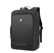 Рюкзак Arctic Hunter B00227 городской для ноутбука USB черный 25 л