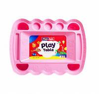 Игровой столик для песка и пластилина Розовый TOY-53983, КОД: 1487425