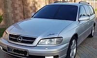 Дефлекторы окон (вставные!) ветровики Opel Omega B 1993-2003 2шт., HEKO, 25343