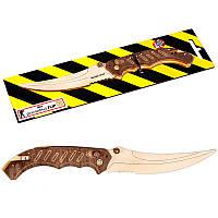 Деревянная игрушка нож Флип CS GO