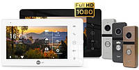 Комлект FullHD домофона NeoKIT HD Pro /Neolight SIGMA+ HD - сенсорный монитор
