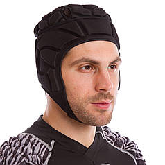 Шлем для регби (S-L, черный) PZ-BC-5620