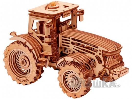 3D пазл механическая сувенирно-коллекционная модель Трактор