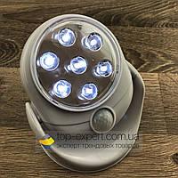 Светодиодная лампа с датчиком движения light angel led светильник фонарь освещения уличная и для дома