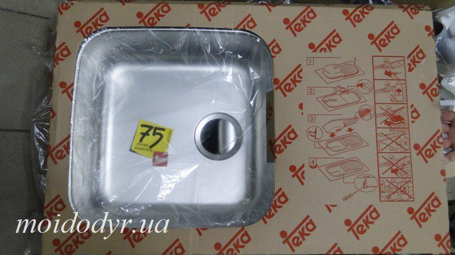 Мойка  кухонная с нержавеющей стали Teka Classic 1C1E MTX
