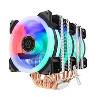 Кулер для процессора, башня, система охлаждения, Intel AMD, Alseye DR90