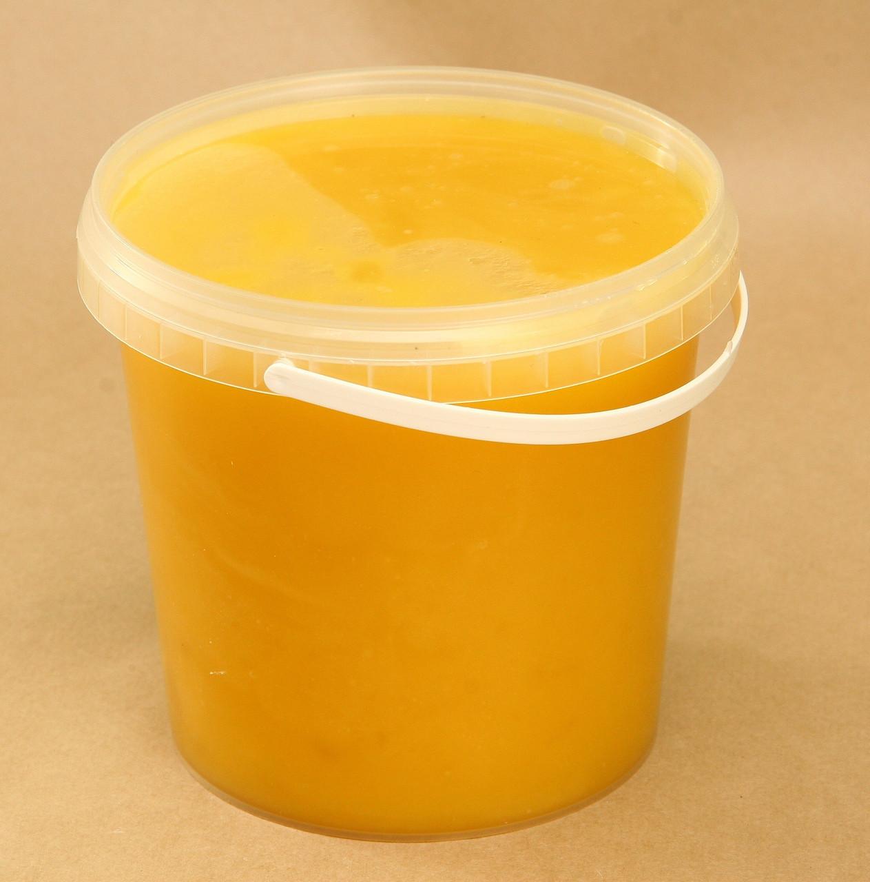 Мед подсолнуха натуральный 0,5 л