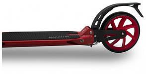 Двухколесный самокат Maraton Leader красный, фото 2