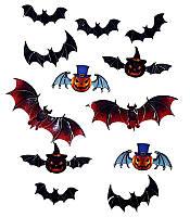 Декор настенный Персонажи Хэллоуин 12 290917-001