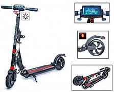Электросамокат Scale Sports SS-01. Black. Дисплей управления + Led-фонарик