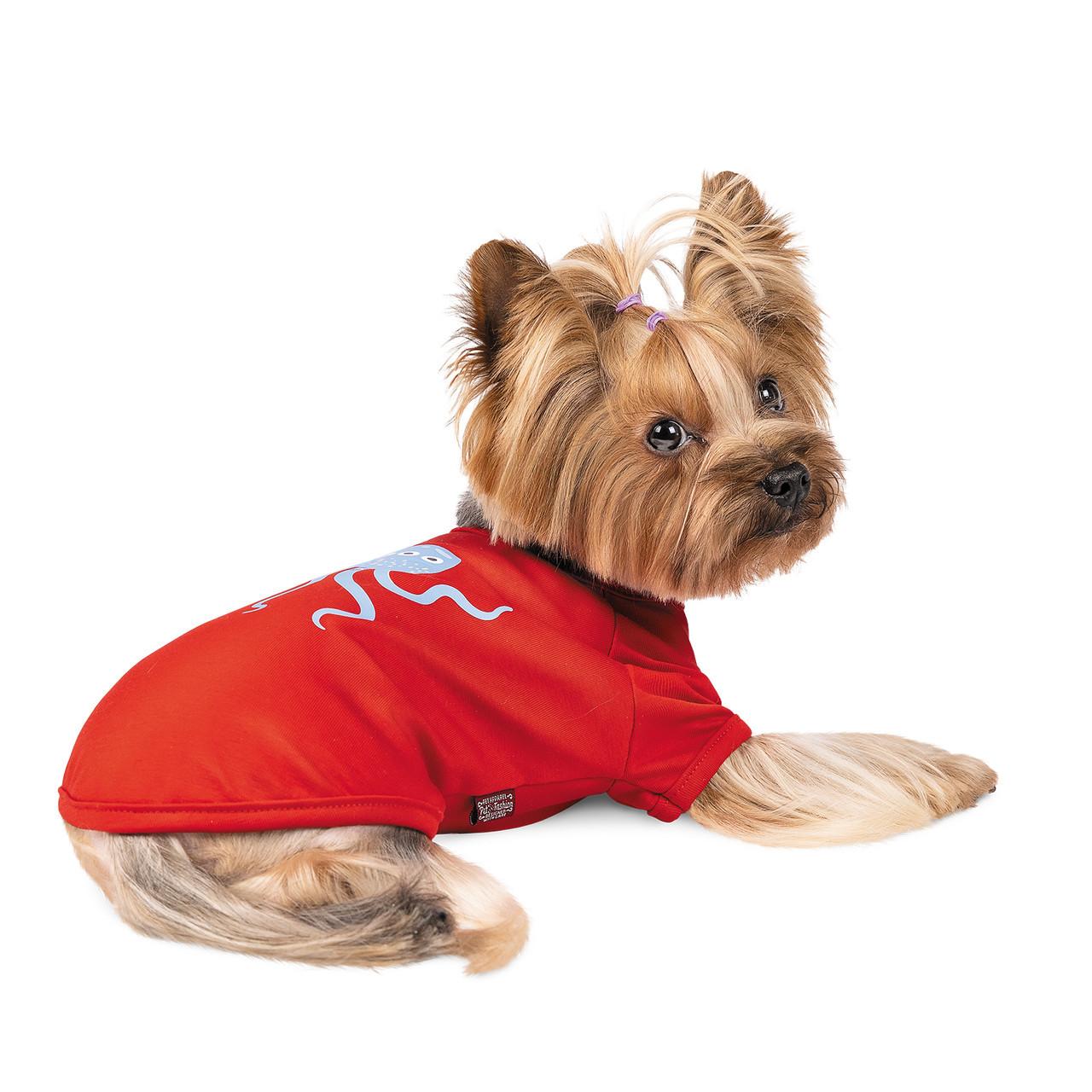 Футболка для собачки Pet Fashion Галактика красная M