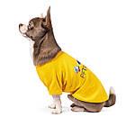 Футболка для собачки Pet Fashion Галактика желтая M, фото 2