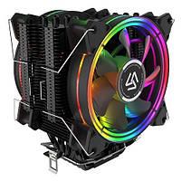 Кулер для процессора, башня, система охлаждения, Intel AMD, Alseye HD120D