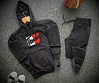 Спортивный костюм мужской Tommy Hilfiger x black весенний осенний | ТОП качество, фото 1