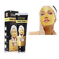 Золотая омолаживающая маска для лица DEXE 24k GOLD MASK, 120g