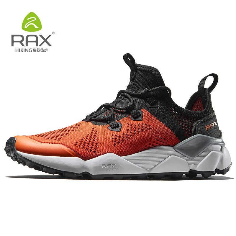 Кроссовки мужские оранжевые яркие RAX 81-5C458red