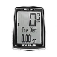 Велокомпютер Sigma Sport BC 16.16 Black SKL35-238507