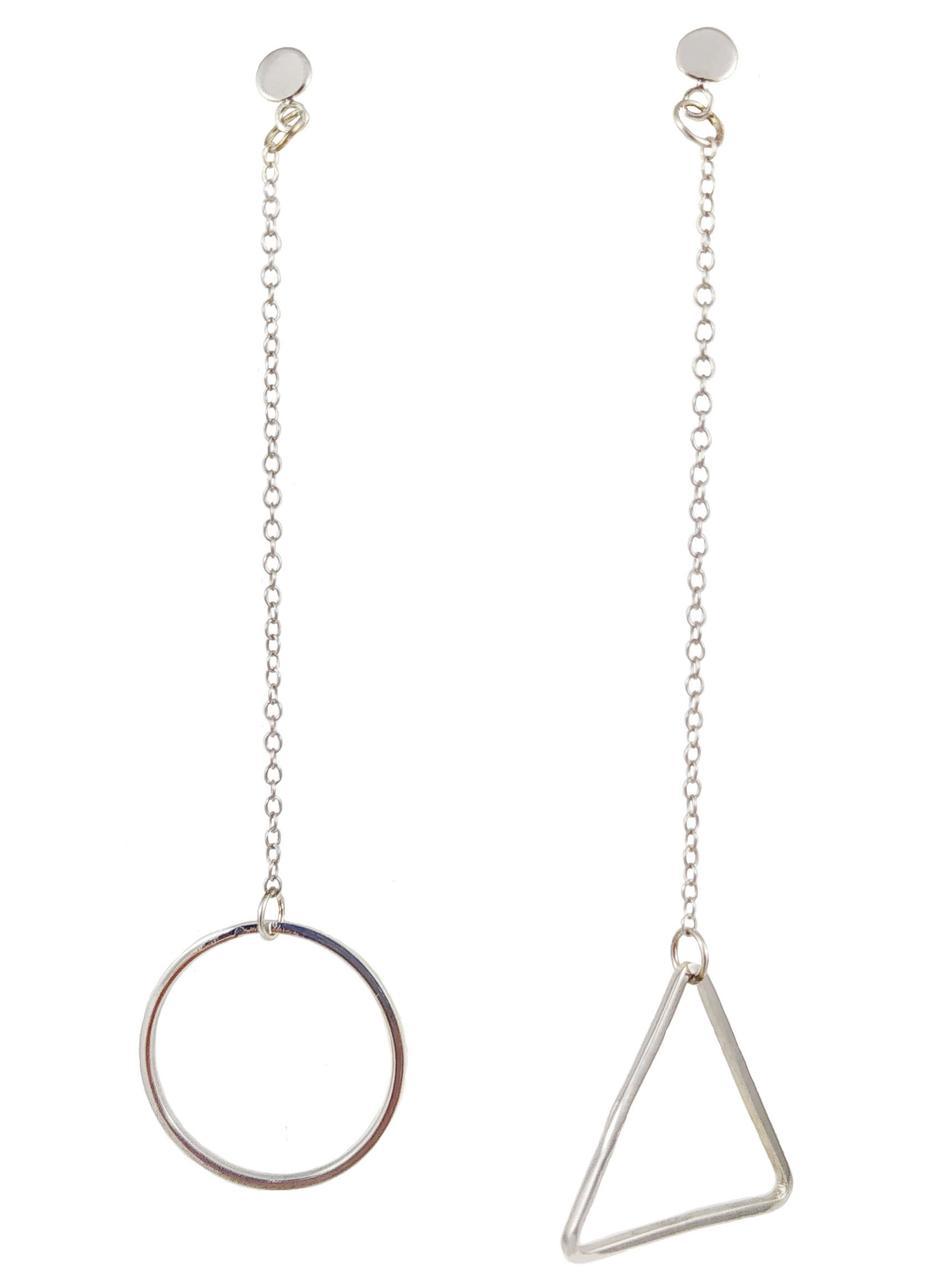 Срібні сережки EP889