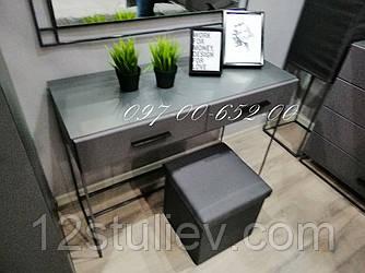 Стол туалетный TOAL2S Мерс МДФ серый
