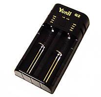 Зарядний пристрій для акумуляторів Yunii Q2 універсальний 7003