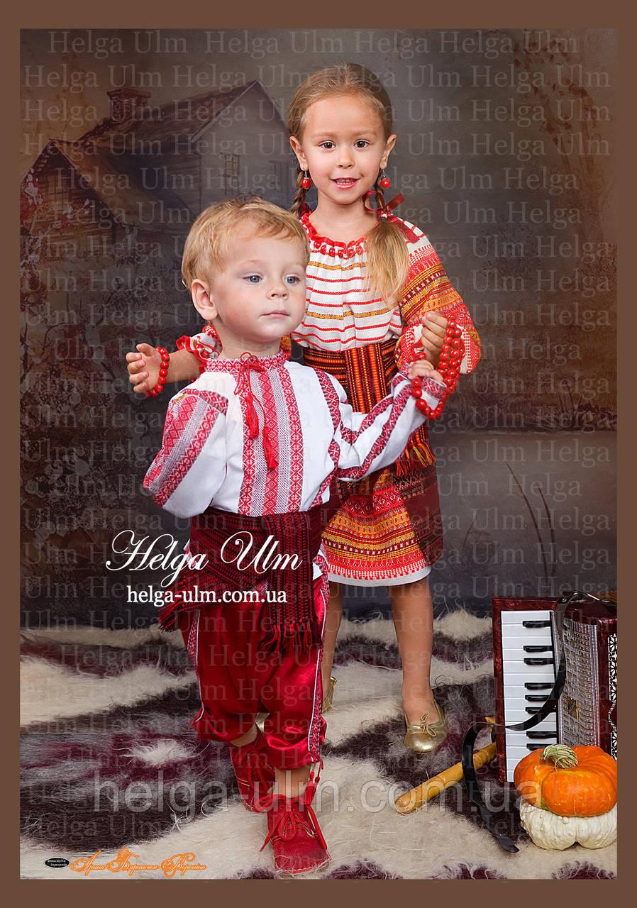 """Український костюм (стрій) для дівчинки - """"Одеса"""". На замовлення"""