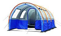 Палатка кемпинговая 4-х местная двухкомнатная Lanyu LY-1801