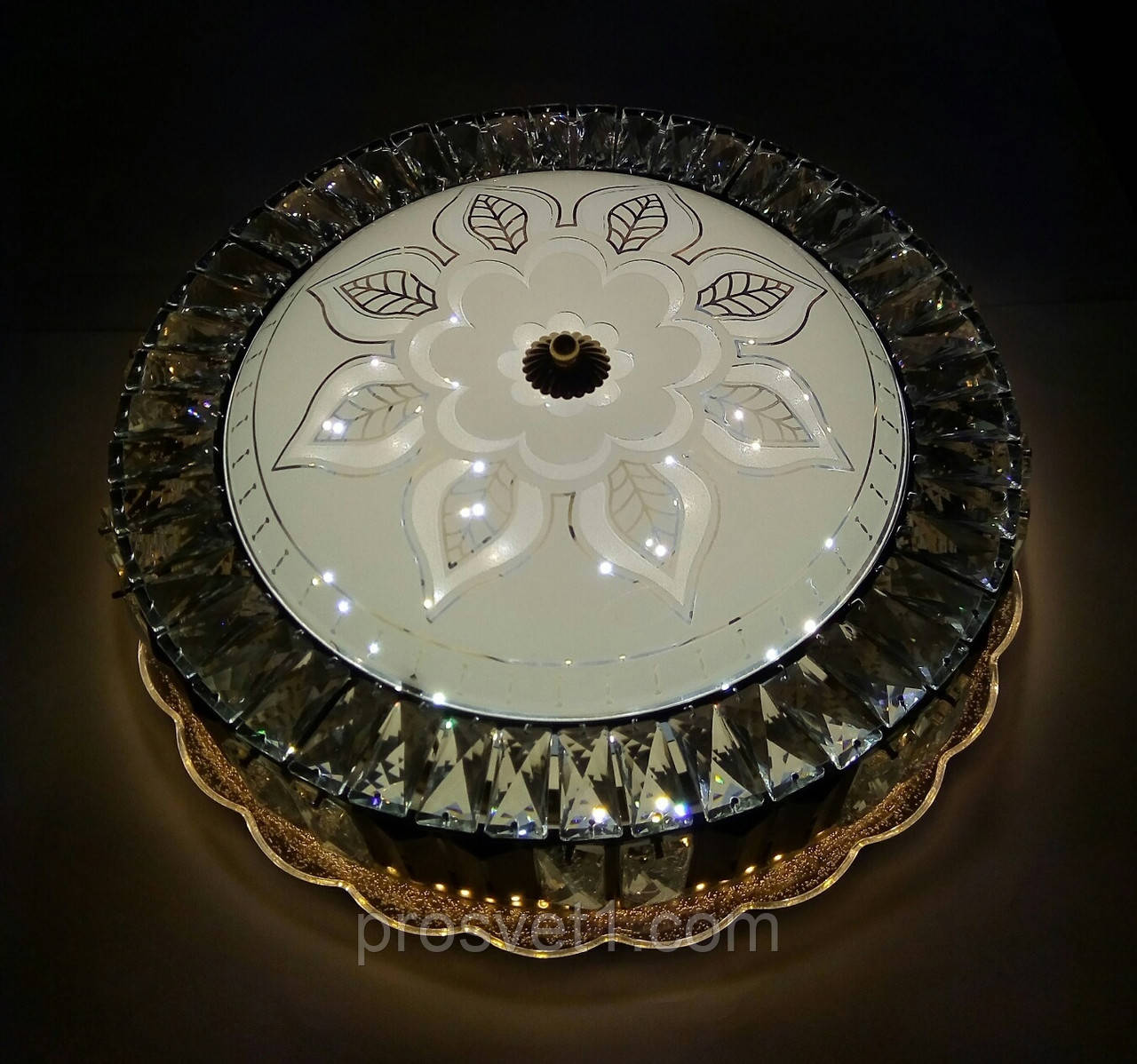 Люстра светодиодная круглая LED 1817-3/500 85W