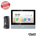 Hikvision DS-KH8350-TE1+DS-KB8112-IM комплект IP домофона, фото 2