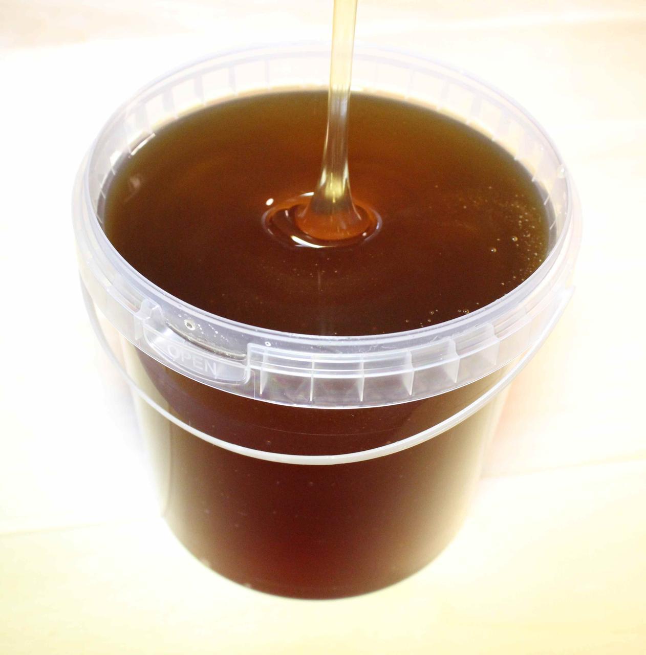 Мед натуральний гречаний 0,5 л