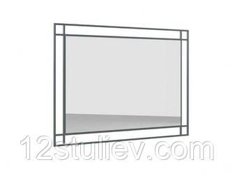 Зеркало LUS 100 Мерс МДФ серый