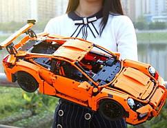 Конструктор детский 2728 деталей «Porsche 911 GT3 RS»