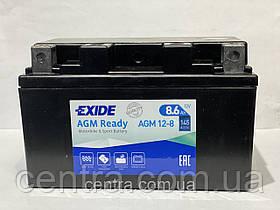 Мото аккумулятор EXIDE AGM12-8