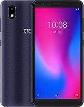 "Смартфон ZTE Blade A3 2020 1/32GB Dual Sim Grey; 5.45"" (1440х720) IPS / Spreadtrum SC9832E / RAM 1 ГБ / 32 ГБ вбудованої + microSD до 128 ГБ / камера"
