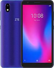 "Смартфон ZTE Blade A3 2020 1/32GB Dual Sim Blue; 5.45"" (1440х720) IPS / Spreadtrum SC9832E / RAM 1 ГБ / 32 ГБ вбудованої + microSD до 128 ГБ / камера"