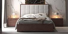 Двоспальне ліжко WoodSoft Porto з підйомним механізмом 160x200, ясень (PortoPM160200JAS), фото 2