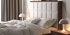Двоспальне ліжко WoodSoft Porto з підйомним механізмом 160x200, ясень (PortoPM160200JAS), фото 3