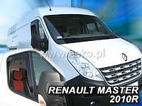 Дефлекторы окон (вставные!) ветровики Opel Movano B 2010-2020, HEKO, 27108