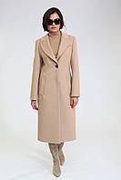 Классическое женское демисезонное пальто бежевое Ricco Лукреция