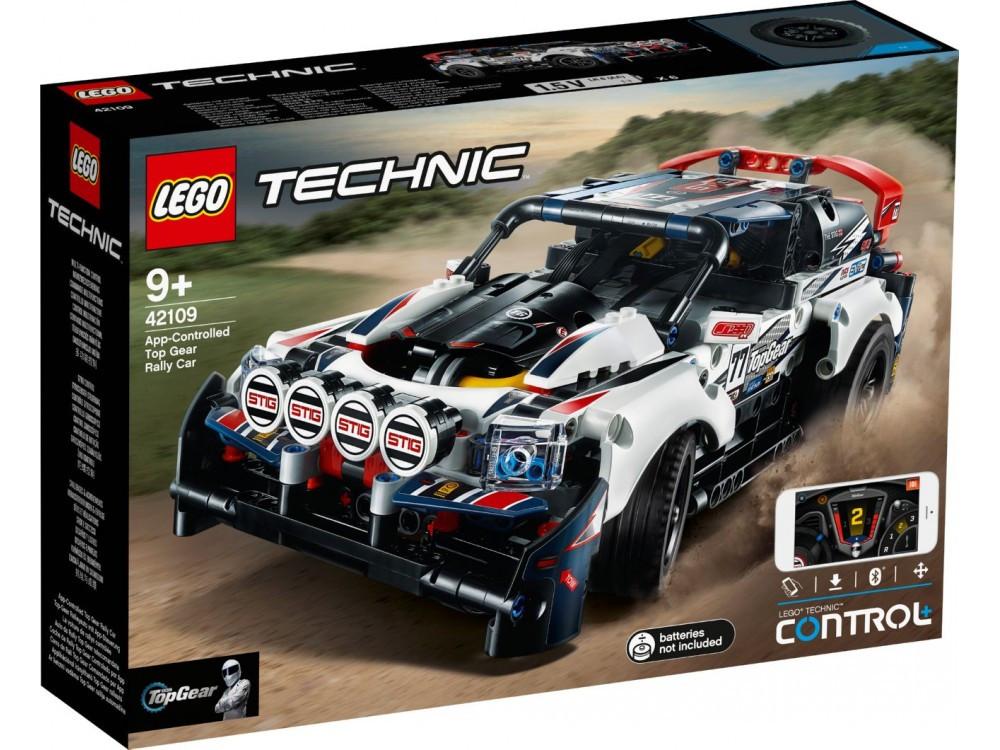 Lego Technic - Гоночний автомобіль Top Gear на керівн (App-Controlled Top Gear Rally Car, 463 дет), 9+ (42109)