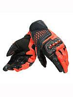 Мотоперчатки Dainese Carbon 3 Short (красные)