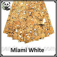 Пробковые панели (обои) Miami White TM Egen 600*300*3 мм