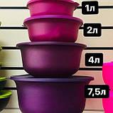 Яркий набор чаш АЛОХА 3 шт  1л / 2 л/ 4 л Tupperware купить со скидкой универсальные, фото 7