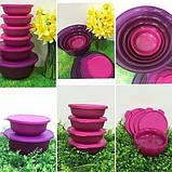 Яркий набор чаш АЛОХА 3 шт  1л / 2 л/ 4 л Tupperware купить со скидкой универсальные, фото 3