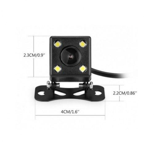 Камера Заднего Вида 5-pin (mini-jack 2.7 mm) Для Зеркал-Регистраторов + Ночное видение CAM-01 LED