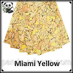 Коркові панелі (шпалери) Miami Yellow TM Egen 600*300*3 мм