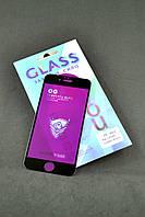 Защитное стекло iPhone 6 Big Curved Golden Armor Black (Олеофобное покрытие) 4you