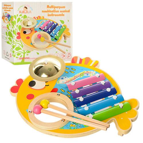 Деревянная игрушка Ксилофон MD 0903, Оригинал
