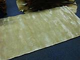 Індійські килими з віскози, товсті м'які килими, однотонні килими, фото 2