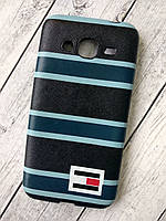 "Чехол Lenovo A2020 Silicone (плотный) ""Tommy Hilfiger"" black/blue"